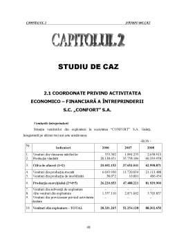 Proiect - Politici și Tratamente Contabile Privind Impozitul pe Profit