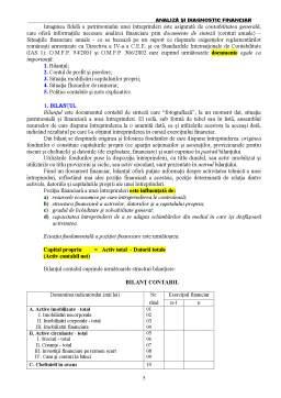 Curs - Analiză și Diagnostic Financiar
