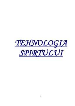 Referat - Tehnologia Spirtului