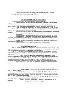 Curs - Drept Penal al Afacerilor