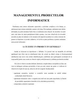 Curs - Managementul Proiectelor Informatice