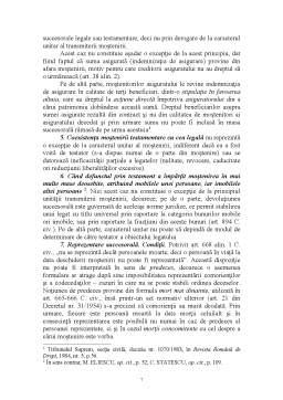 Curs - Exceptii de la Principiul Transmiterii Mostenirii