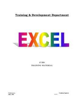 Curs - Curs Excel  pentru Incepatori