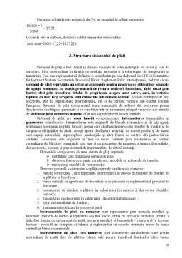 Curs - Esența Operațiunilor de Plăți și Decontări în Cadrul Băncii Comerciale