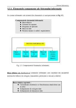 Curs - Bazele Informaticii - Curs 1