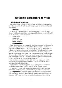 Referat - Gastroenterite Parazitare la Vitei