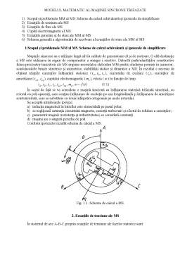 Curs - Modelarea Matematica in Actionari Electrice
