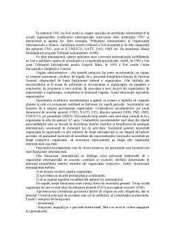 Curs - Organizatii si Relatii Internationale