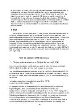 Proiect - Nitriții și Nitrații