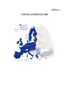 Proiect - Analiza Stadiului Pregătirii României în Procesul de Integrare în Uniunea Europeană