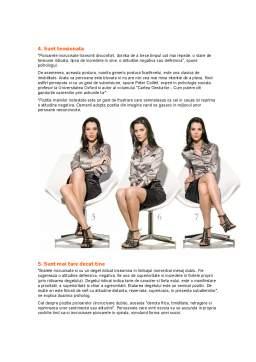 Proiect - Comunicarea Non-Verbala - Limbajul Trupului