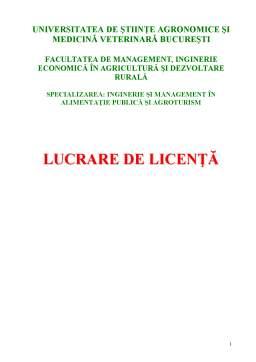 Proiect - Cercetari Privind Implementarea Marcii Q in Pensiunile Agroturistice din Romania - Studiu de Caz