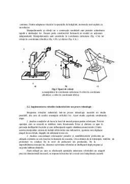 Proiect - Notiuni de Automatizare, Cibernetizare si Robotizare a Proceselor Tehnologice