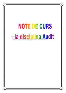 Curs - Audit