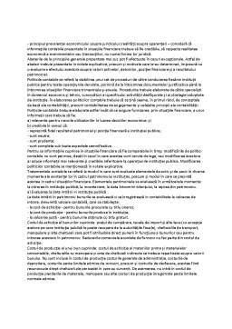 Curs - Principii și Politici Contabile. Tratamente Contabile