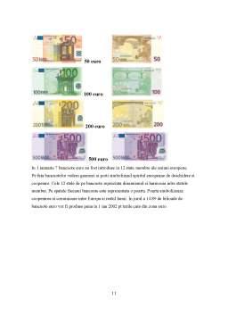 Referat - Impactul Adoptarii Monedei Unice Europene