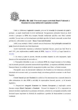 Proiect - Coordonatele Sistemului Bancar Romanesc