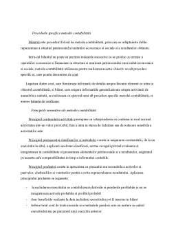 Curs - Metoda Contabilitatii