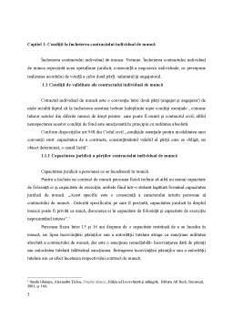 Proiect - Procedura Încheierii Contractului Individual de Muncă în Administrația Publică