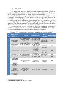Proiect - Contabilitatea de Mediu