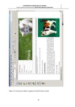 Proiect - Realizarea unui Site - Pisici
