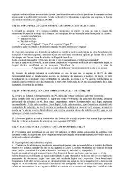 Curs - Instructiuni de Achizitii pentru Beneficiarii Privati ai Programului Sapard