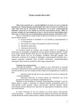 Proiect - Studiu de Caz Organizational - Conflictul in Organizatie