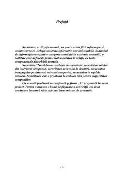 Proiect - Protectia si Securitatea Sistemelor Informationale