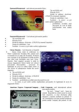 Proiect - Monografie UniCredit Tiriac Bank