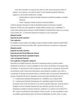 Curs - Prevederile Cadrului Normativ la Acceptarea unui Angajament de Audit