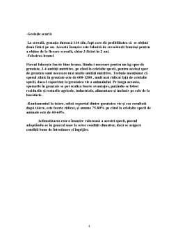 Proiect - Proiect Tehnologic la Disciplina Tehnologia Cresterii Suinelor - 1500 de Capete