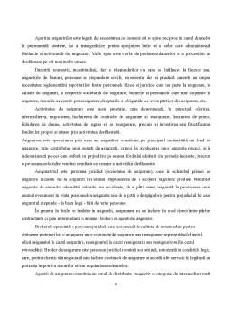 Referat - Asigurari Brokerii de Asigurari