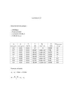 Laborator - Masini Hidraulice