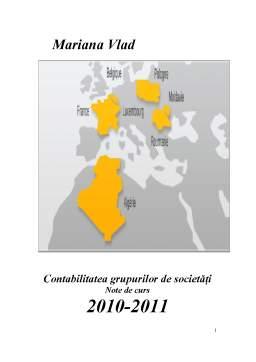 Curs - Contabilitatea Grupurilor de Societăți
