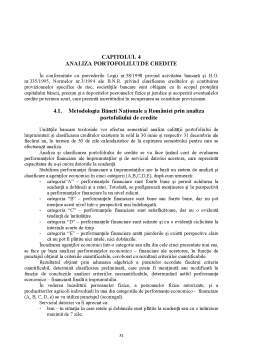 Licență - Analiza Creditării pe Termen Scurt