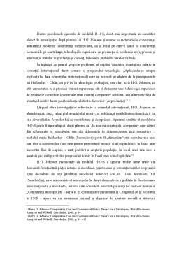 Curs - Preocupări de Modernizare și Dinamizare a Teoriei Neoclasice a Comerțului Internațional