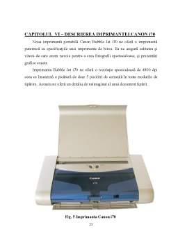 Proiect - Echipamente Periferice de Iesire - Imprimanta
