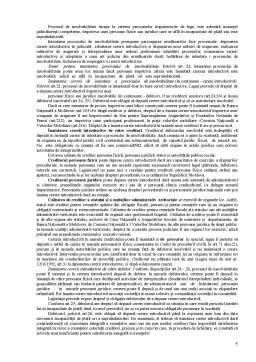 Curs - Dizolvarea și încetarea activității societăților comerciale în baza Legii