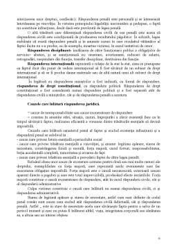 Curs - Raspunderea Juridica - Curs 12