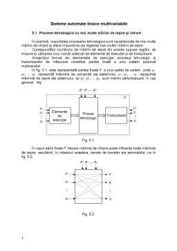 Curs - Sisteme Automate Liniare Multivariabile