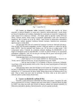Proiect - Lasere cu Dioxid de Carbon - Aplicatii