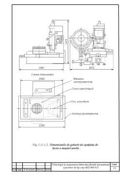 Licență - Diploma de Licenta - Tehnologia si Organizarea Fabricarii Flexibil Automatizate a Pieselor