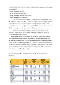 Proiect - Asigurarile Obligatorii din Romania