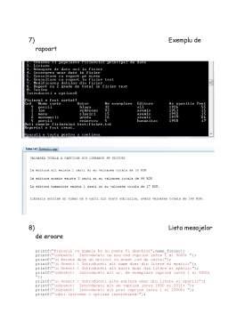 Proiect - Algoritmi in Programare Despre Evidenta unei Biblioteci