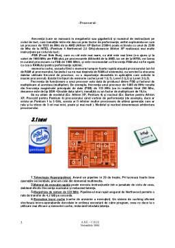 Referat - Procesorul