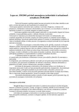 Curs - Legislatia Constructiilor si Amenajarii Teritoriului
