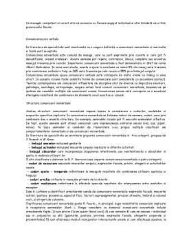 Proiect - Comunicarea Verbala si Non Verbala