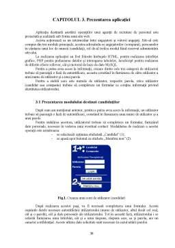 Proiect - Aplicatie Informatica Privind Asistarea Operatiilor unei Agentii de Recrutare de Personal