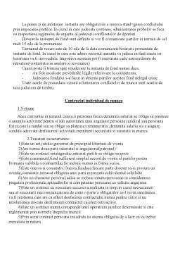 Curs - Dreptul Muncii - Sindicatele