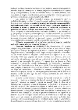 Referat - Generalități Privind Dreptul Social al Muncii și Securității Sociale
